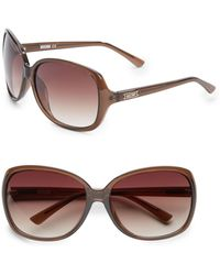 Moschino 65mm Oversized Square Sunglasses - Lyst