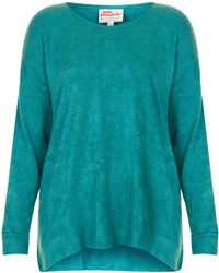 TOPSHOP - Slouch Knitted Jumper By Annie Greenabelle - Lyst