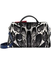Fendi By The Way Medium Calfhair Satchel Bag - Lyst