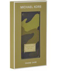 MICHAEL Michael Kors Camo Calfhair Iphone 5 Cover - Lyst