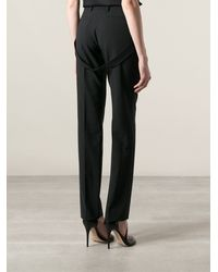 Givenchy Belt Detail Trousers - Lyst