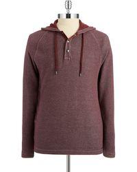 Michael Kors Waffle Patterned Sweatshirt - Lyst