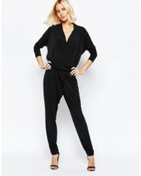 SELECTED - Sadina Long Sleeved Jumpsuit - Lyst