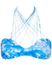 Mikoh Swimwear | Printed Kahala Top | Lyst