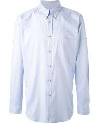 Alexander McQueen Button Down Shirt - Lyst