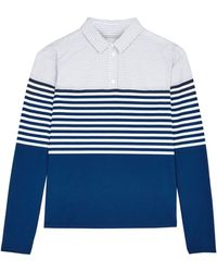 Band Of Outsiders Shirt with Block Stripe - Lyst