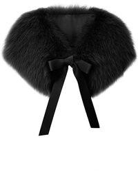 Elie Saab Fox Fur Stole - Lyst