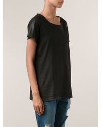 Nsf Clothing Round Neck T-shirt - Lyst