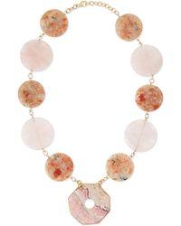 Devon Leigh Multi-Stone Statement Necklace - Lyst