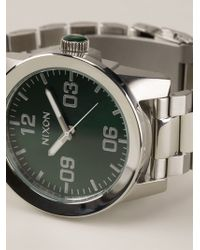 Nixon The Corporal Ss Watch - Lyst