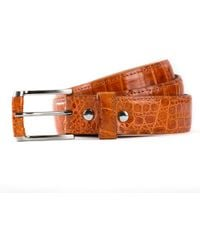 Anne Sisteron - Crocodile Belt - Lyst