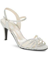 Caparros - Brea Glitter Sandals - Lyst