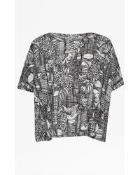 French Connection | Downtown Ink T-shirt | Lyst