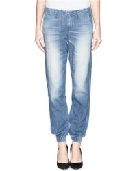 Rag & Bone/JEAN 'The Pajama' Washed Cotton Jeans - Lyst