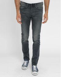 Edwin Grey Washed Ed80 Stretch Slim-fit Jeans gray - Lyst