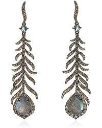 Annoushka Mythology Tsar Feather Earrings - Lyst