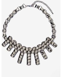 Nasty Gal Night Fever Rhinestone Necklace - Lyst