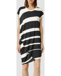 AllSaints Ease Dress - Lyst