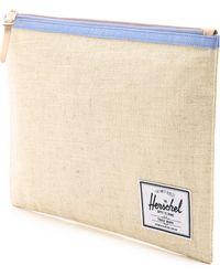 Herschel Supply Co. - Extra Large Network Pouch - Natural Hemp - Lyst