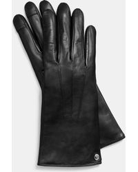 COACH New Leather Tech Glove