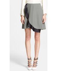 Prabal Gurung Silk Wrap Circle Skirt - Lyst