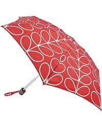 Orla Kiely - Tiny Linear Leaf Umbrella - Lyst