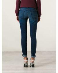 Koral Blue Skinny Jeans - Lyst