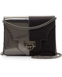 Reece Hudson Rider Small Two-Toned Shoulder Bag - Lyst