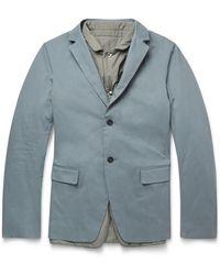 Jil Sander Empoli Gilet-Lined Cotton Jacket - Lyst