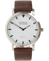 Shore Projects | Dark Brown Poole Watch | Lyst