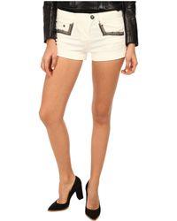 Balmain Shorts With Studded Pockets - Lyst