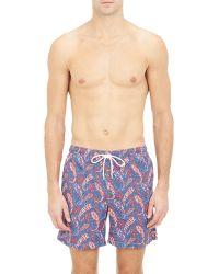 Petronius   Paisley Swim Shorts-Multi Size S   Lyst