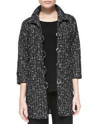 Caroline Rose Transitional Tweed Easy Shirt - Lyst