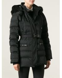 Gucci Black Padded Coat - Lyst