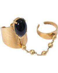 Ela Stone - Double Liad Ring - Lyst