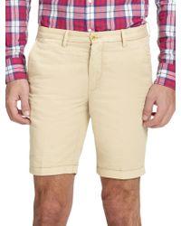 Gant Rugger Summer Linen & Cotton Shorts - Lyst