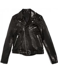IRO Wilma Oversized Leather Jacket - Lyst