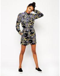 Asos Printed Shorts - Lyst