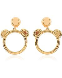 Moschino Clip On Earrings - Lyst