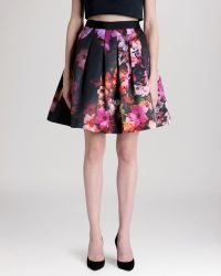 Ted Baker Skirt - Abaigh Floral - Lyst