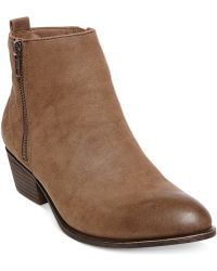 Madden Girl Holywood Quilted Booties - Lyst