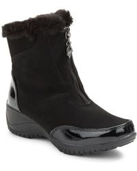 Khombu - Alice Faux Fur-lined Ankle Boots - Lyst