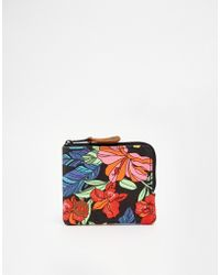 Mi-Pac - Coin Purse In Tropical Floral Print - Lyst