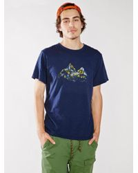 The North Face United by Blue Geode Tee - Lyst