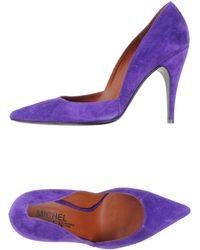 Michel Vivien Purple Pumps - Lyst