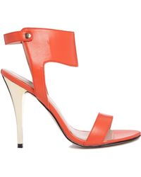 Carvela Jessica Ankle Cuff Heeled Sandals - Lyst