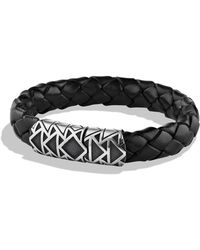 David Yurman Frontier Bracelet in Black - Lyst