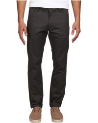 Calvin Klein Four-pocket Sateen Bowery Pant - Lyst