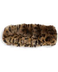 Parkhurst - Faux Fur Headband - Lyst