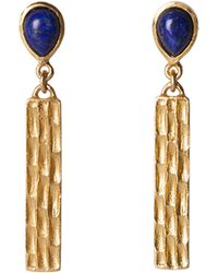 Jack Rogers - Bar Earrings By Christina Greene - Lyst
